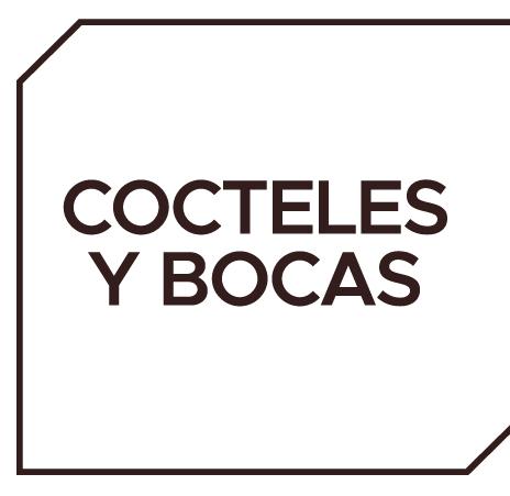 Menu Cocteles y Bocas